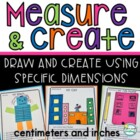 Measurement ~ Inches and Centimeters ~ Measurement Activities