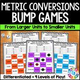 Metric Measurement Conversions: Metric Conversions Games {4.MD.1}