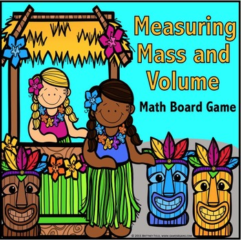 3rd Grade Measurement Game: Metric Measurement for Mass & Volume {3.MD.2}