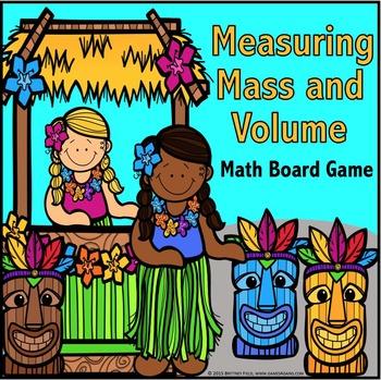 3rd Grade Measurement Game: Metric Measurement for Mass & Volume {3.MD.2}