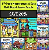 3rd Grade Measurement and Data Games Bundle