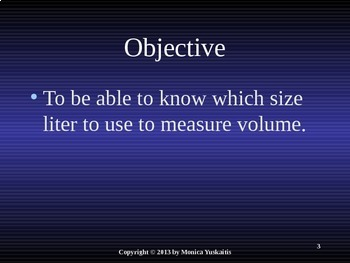 Common Core 3rd - Measurement 2 - Metric Volume