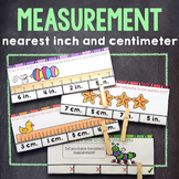2nd Grade Measurement: Measuring Length in Inches & Centimeters {2.MD.1, 2.MD.2}