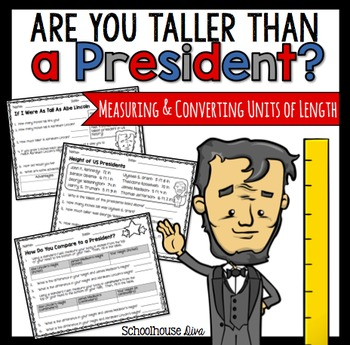 Are You Taller Than a President - Measurement Activity