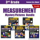Math Challenges 3rd Grade Measurement Unit, With Word Problems, Coloring Pages