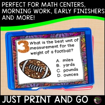 Which Unit of Measurement is Best? Task Cards
