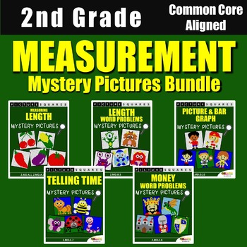 Measurement Centers for 2nd Grade, Includes Measurement Word Problems 2nd Grade