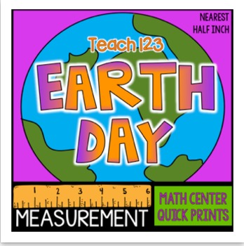 Measurement Earth Day Measurement Inch and half inch