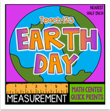 Measurement Earth Day April Inch and half inch