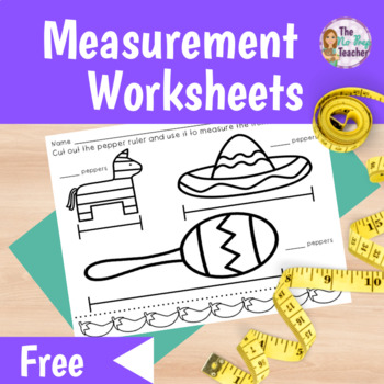 Measurement Free Differentiated Worksheets