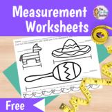 Measurement Worksheets Free