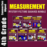 Measurement Word Problems 4th Grade Math Story Problem Worksheets