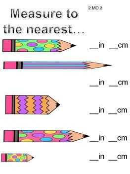 Measurement 2nd Grade Common Core