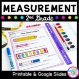 Measurement 2nd Grade - Google Slides Distance Learning Pack