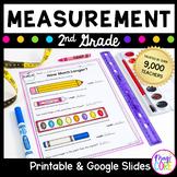 Measurement 2nd Grade - Google Slides Distance Learning Pack