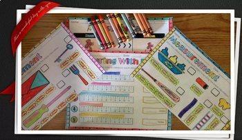 Measurement Activities Interactive Notebook