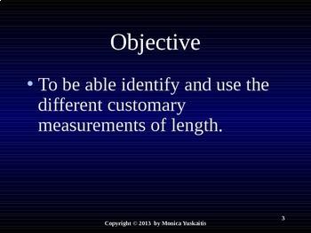 Common Core 3rd - Measurement 5 - Customary Length