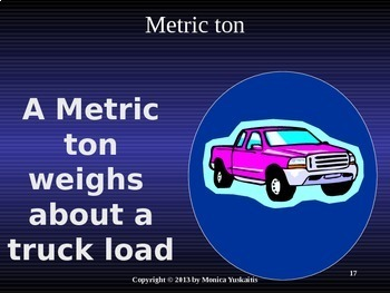 Common Core 4th - Measurement 6 - Metric Weight or Mass (kilogram, gram)
