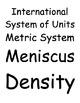 Measurement- A Common Language Vocabulary Packet