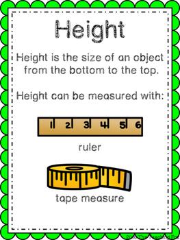 Measurement! {A Nonstandard Measurement Pack}
