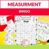 Measurement Abbreviations BINGO