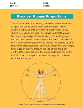 Discover Human Proportions
