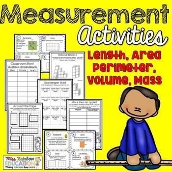 Measurement Activities  (No Prep)