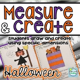 Measurement Activities Halloween ~ Measuring with Inches and Centimeters