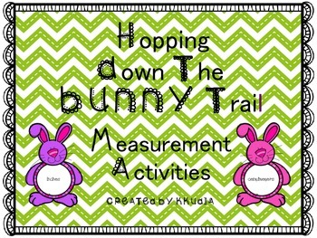 Measurement Activities  Hopping Down the Bunny Trail