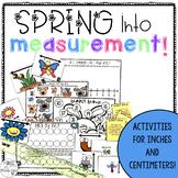 Measurement Activities: Inches & Centimeters