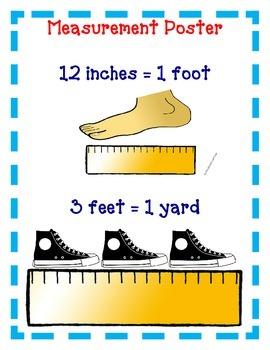 Measurement Activities Inches Feet Yards