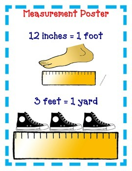 DIGITAL- Measurement Activities - Inches, Feet, Yards - Distance Learning