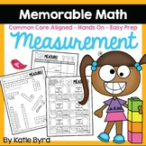 Measurement Activities - Memorable Math (EASY PREP)