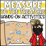 Measurement Activities - Task Cards, Treasure Hunt & Hands