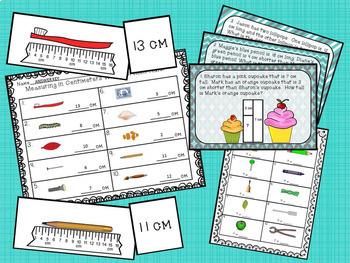 Measurement Activities Using Centimeters