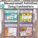 Measurement Activities Using Centimeters Bundle
