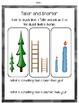 Measurement Activities for Kindergarten