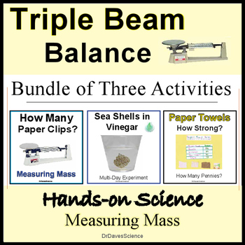 Measurement Activities for Mass and Triple Beam Balances
