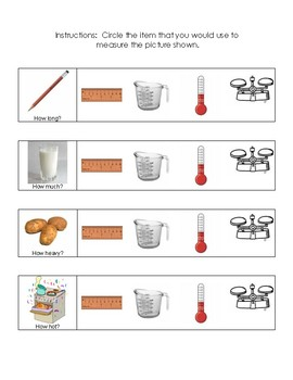 Measurement Activities for Primary Grades