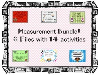Measurement Activity Bundle