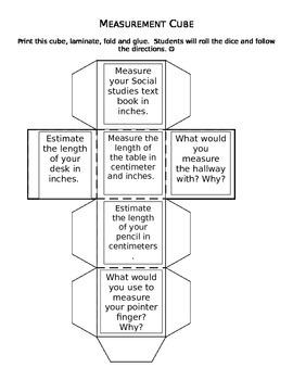 Measurement Activity Cube
