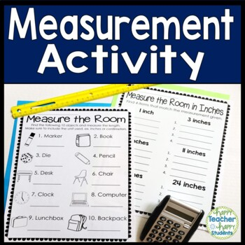 Measurement Activity: Measure the Room! {2 Measuring with a Ruler Activities}