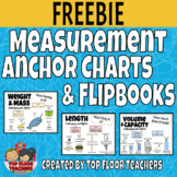 Measurement Anchor Charts and Flipbooks