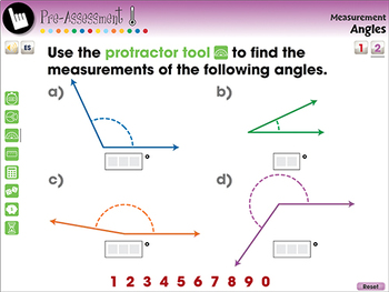 Measurement: Angles - Pre-Assessment & Teach the Skill - PC Gr. 3-5