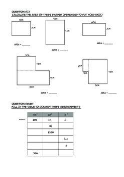 Measurement Area Assessment