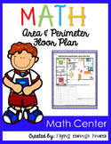 Measurement {Area & Perimeter} Floor Plan Activity 4.MD.3