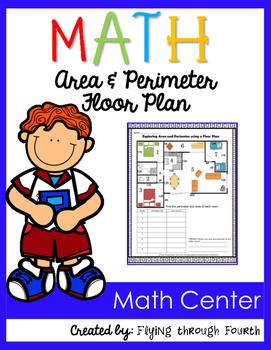 Measurement {Area & Perimeter} Floor Plan Activity 4.MD.3