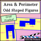 Area and Perimeter of Irregular Shapes for PROMETHEAN Board