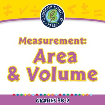 Measurement: Area & Volume - NOTEBOOK Gr. PK-2