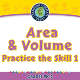 Measurement: Area & Volume - Practice the Skill 1 - PC Gr. PK-2